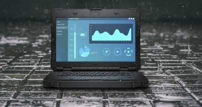Dell Rugged 5420 in the rain