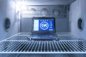 Dell Rugged 7424 THERMAL FREEZER TEST