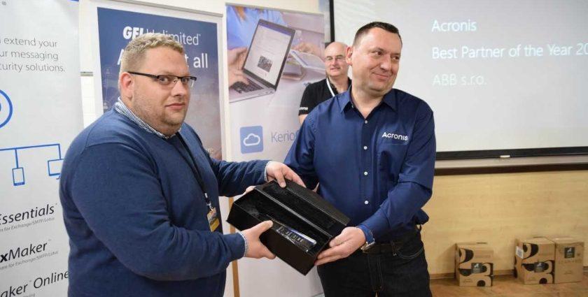 Acronis vyhlásil nejlepší lokální prodejce za rok 2018