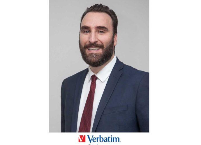 Clive Alberts president of Verbatim