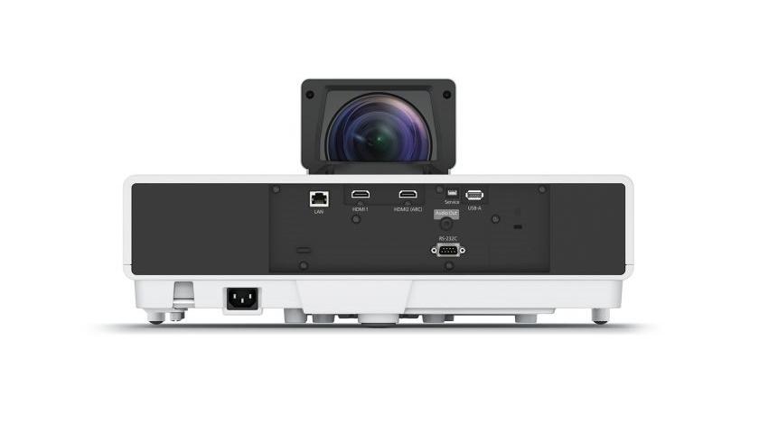 Laserový projektor s ultra krátkou projekční vzdáleností