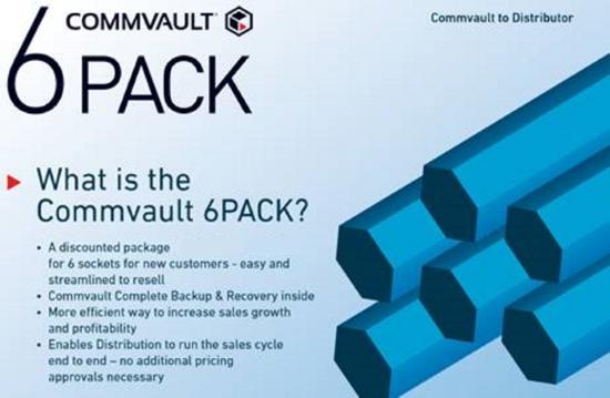 Commvault 6 pack