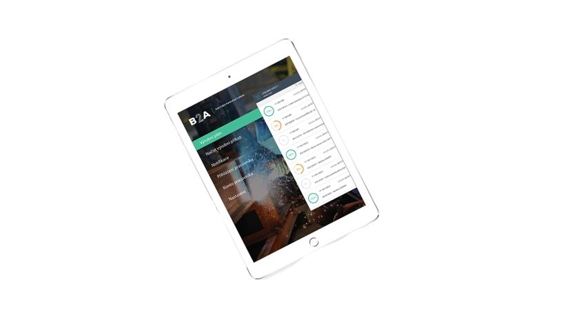 B2A tablet