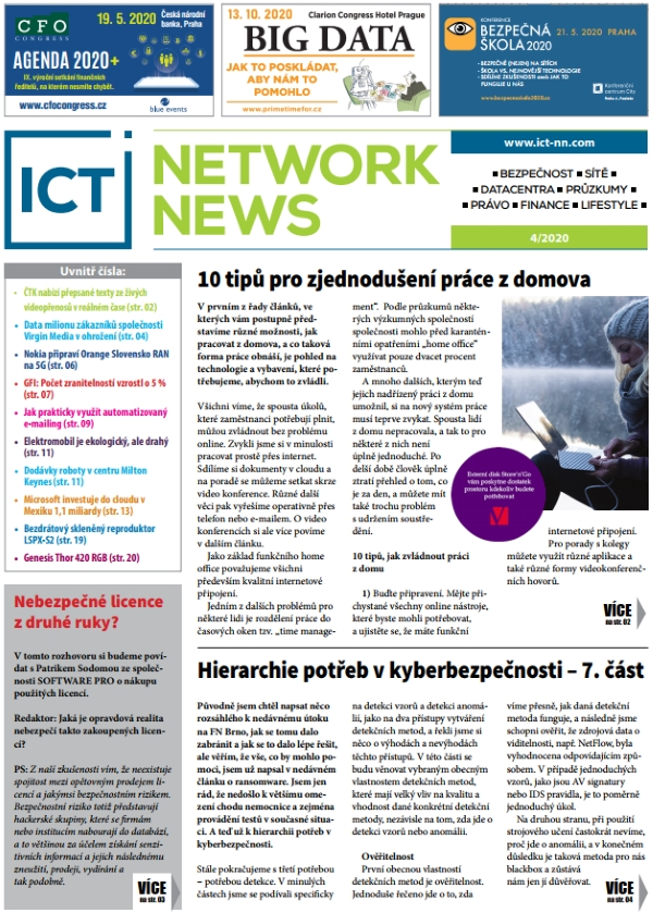 ICT NETWORK NEWS 4-2020