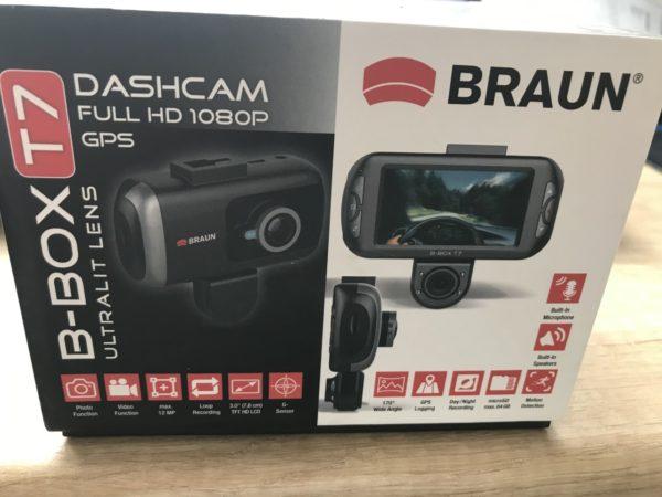 Braun B-Box T7 kamera do auta