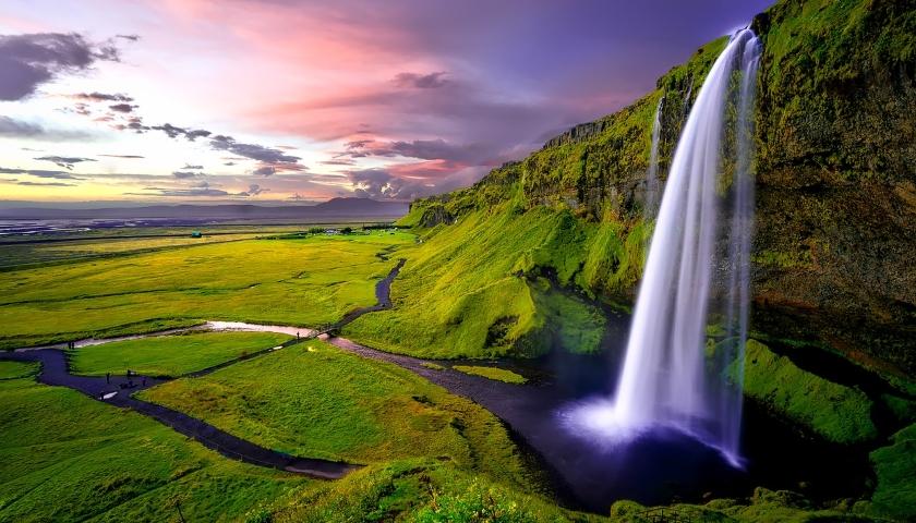 Nature green land