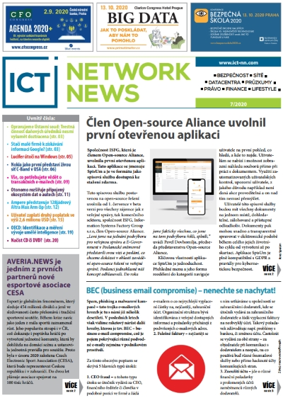 ICT NETWORK NEWS 7-2020 cover