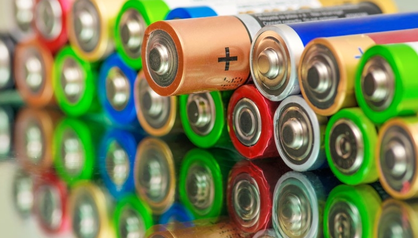 baterie recyklace
