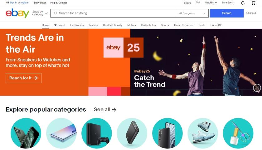 ebay 25 years