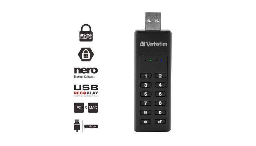 Verbatim USB flash keyboard