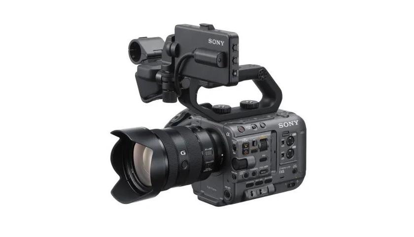 Fullframová profesionální kamera FX6