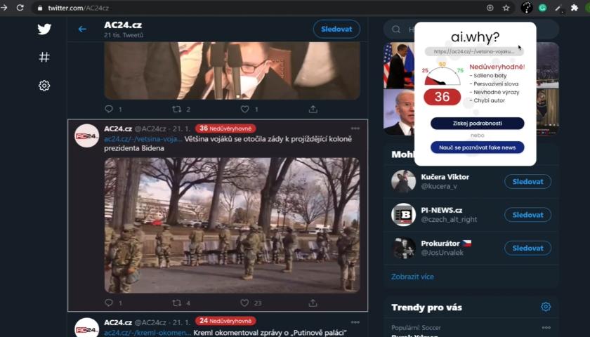 ai.why fake news demo youtube