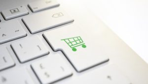 e-commerce keyboard button