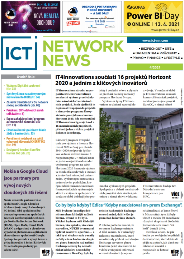 ICT NETWORK NEWS 4-2021 cover