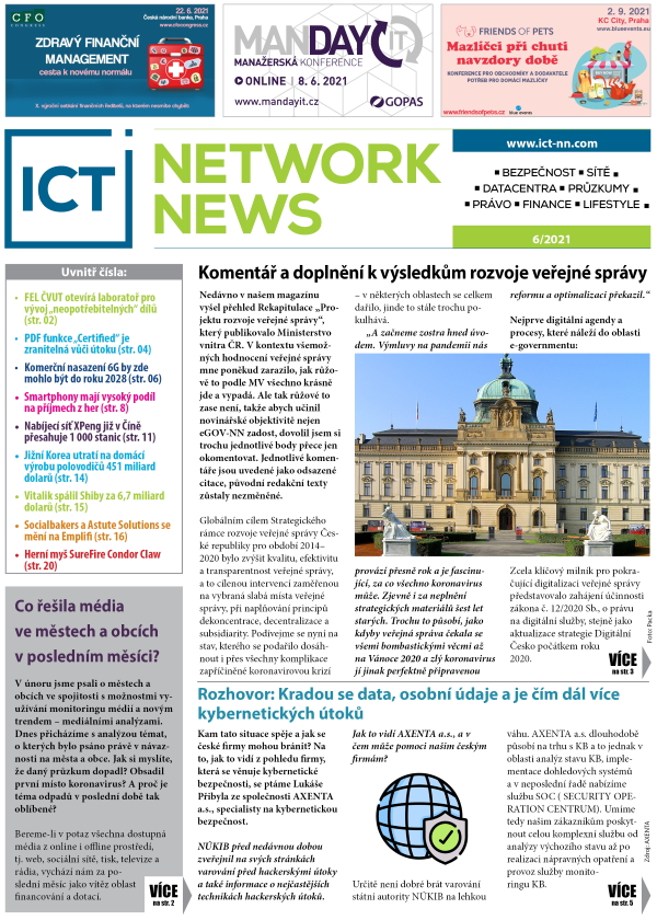 ICT NETWORK NEWS 6-2021 cover