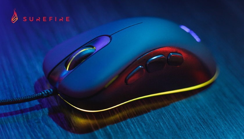 SureFire Condor Claw gaming mouse