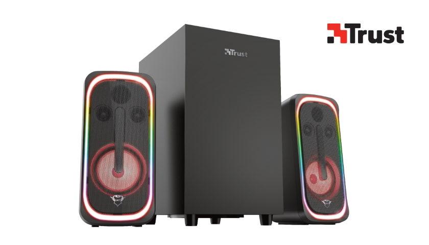 Trust GXT 635 Rumax Multiplatform RGB 2.1 Speaker Set