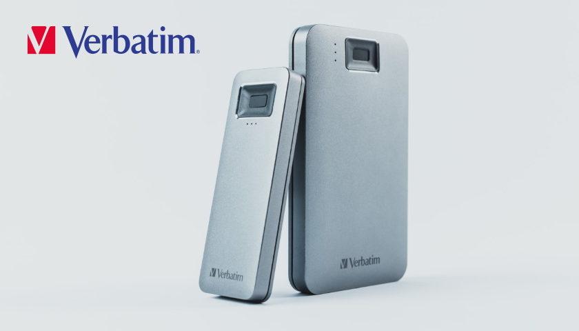Verbatim Executive Fingerprint Secure HDD & SSD logo