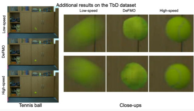 DeFMO Deblurring and Shape Recovery of Fast Moving Objects (CVPR 2021)