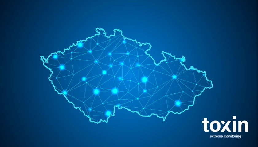Toxin monitoring kraje ČR