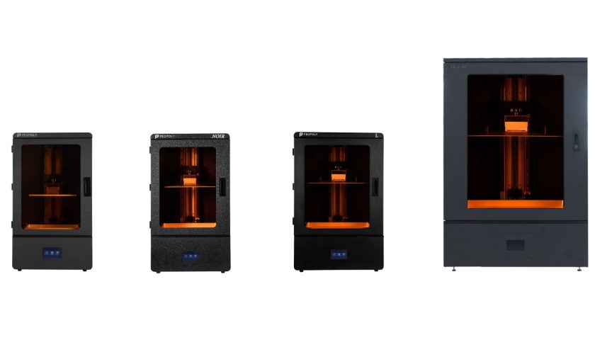 3D tiskárny Phenom s technologií MSLA