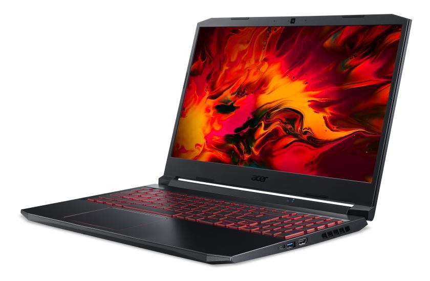 Acer Nitro 5 GTX1650Ti side