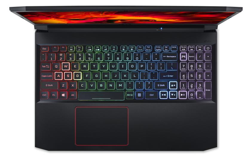 Acer Nitro 5 GTX1650Ti top