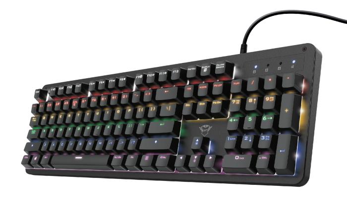 herní mechanická klávesnice Trust GXT 863 Mazz