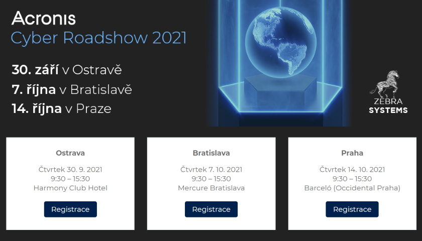 Acronis Cyber Roadshow 2021