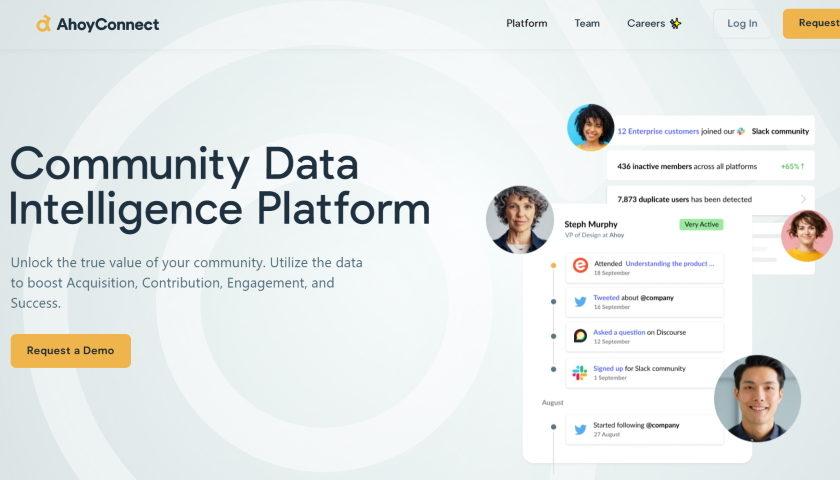 AhoyConnect Community Data